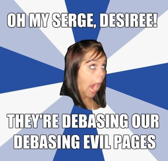 Oh my serge Desiree