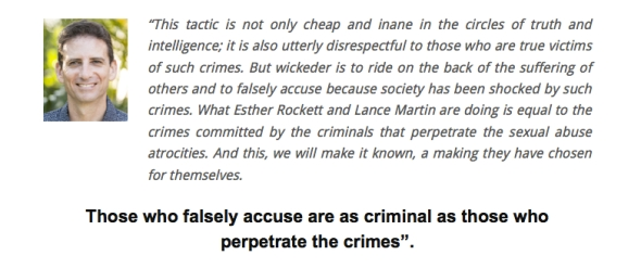 Those who falsely accuse