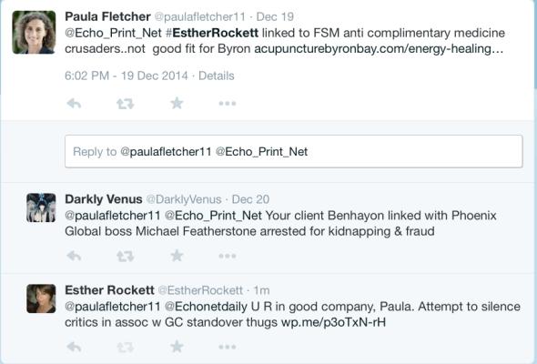 Cult lawyer Paula Fletcher's learned response