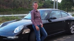 Humble Porsche driver, Mystic Dentist Rachel Hall