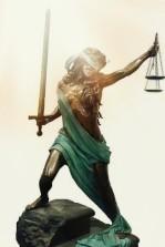 Lady Justice Sunlit